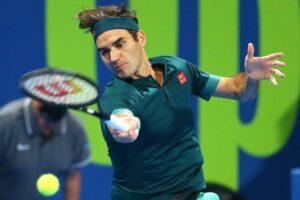 Federer Evans ATP Doha