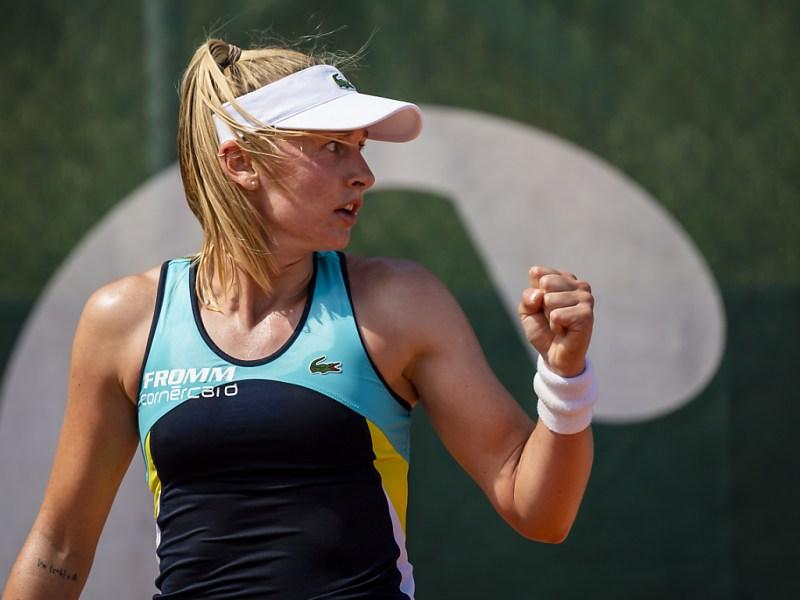 Kvitova Teichmann WTA Dubai