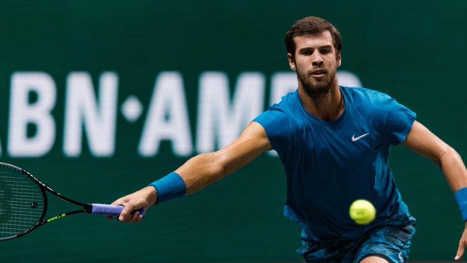 Khachanov Wawrinka ATP Rotterdam