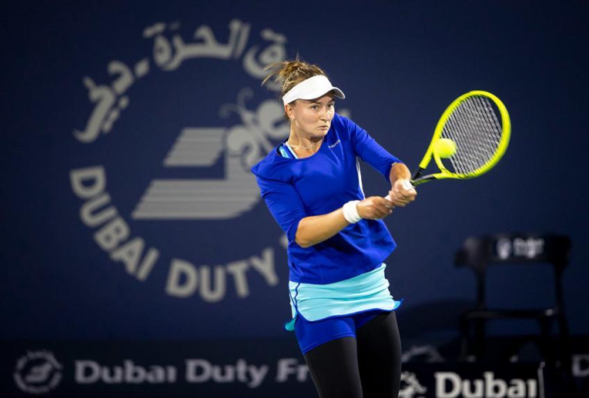 Krejcikova Teichmann WTA Dubai