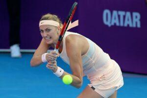 Kvitova Pegula WTA Doha 2021