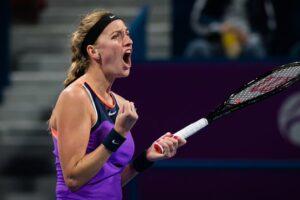 Kvitova Muguruza WTA Doha