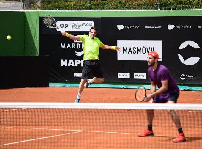 Primeros cuartos Challenger Marbella
