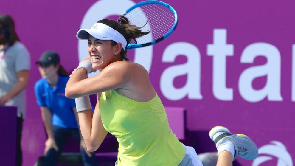 Muguruza Sabalenka WTA Doha