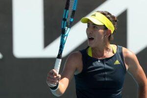 Muguruza Kudermetova WTA Doha 2021