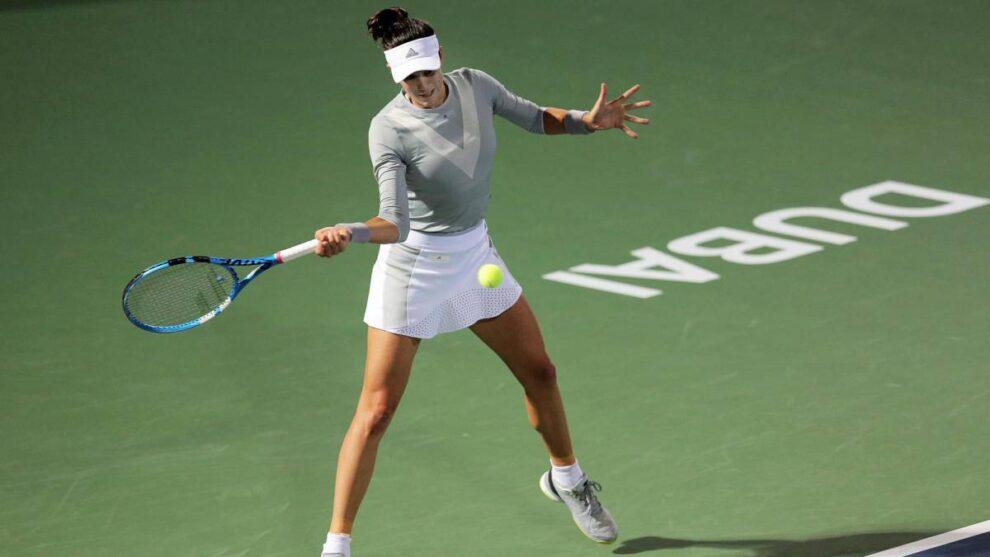 Muguruza Begu WTA Dubai