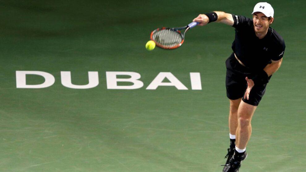 Andy Murray Baja Dubái
