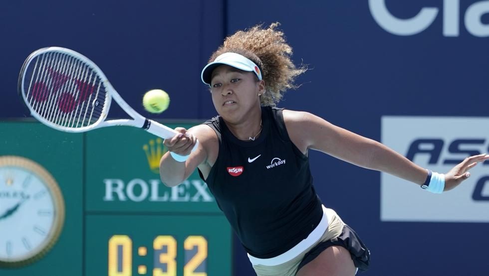 Osaka debut Miami Open
