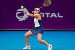Ostapenko Badosa WTA San Petersburgo 2021