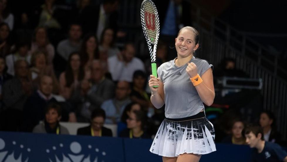 Ostapenko Bertens WTA Doha
