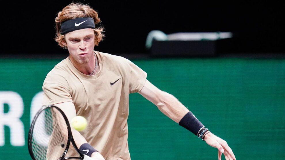 Rublev Chardy ATP Rotterdam