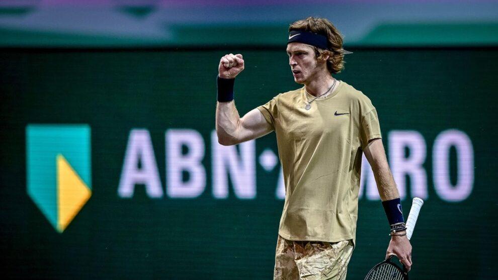 Rublev Tsitsipas ATP Rotterdam