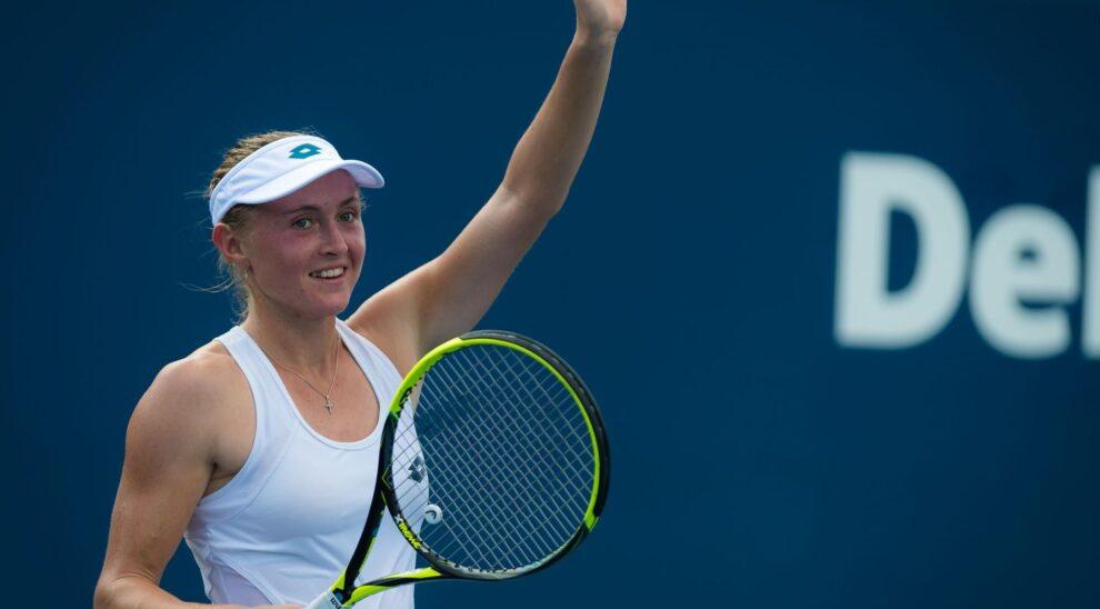 Sasnovich Bouchard WTA Lyon