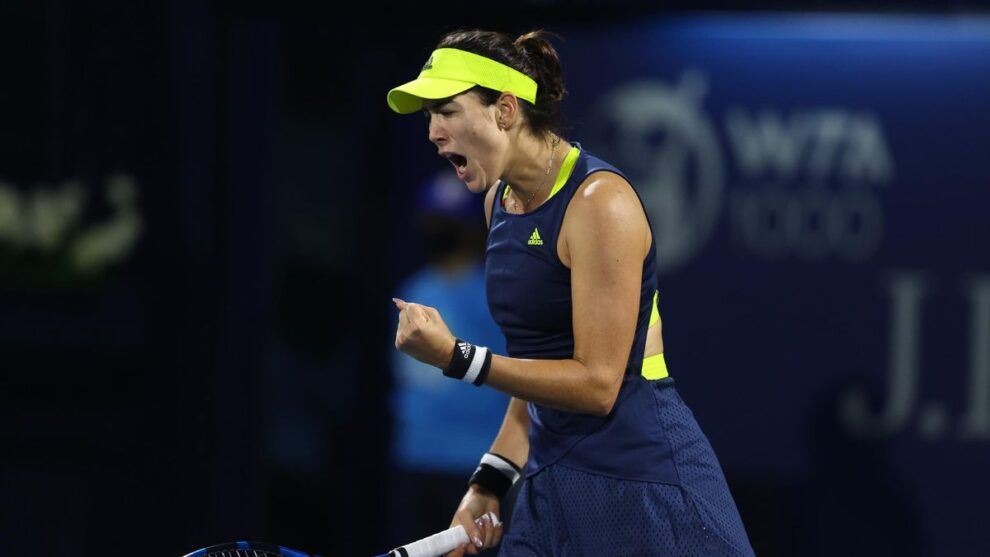 Muguruza Krejcikova WTA Dubai
