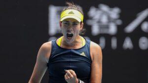 Muguruza Sakkari WTA Doha