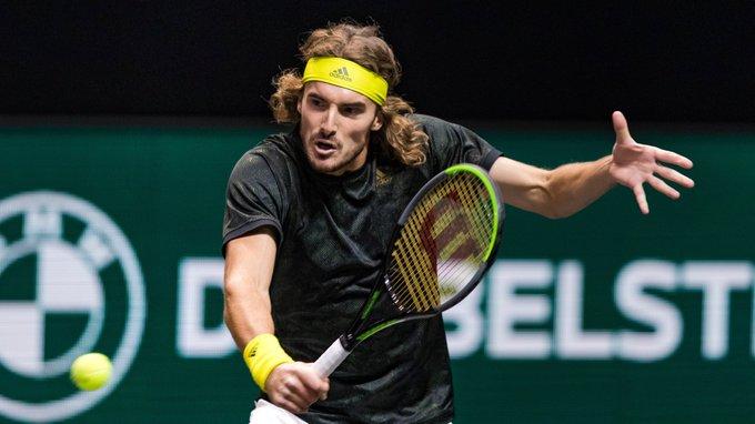 Khachanov Tsitsipas ATP Rotterdam