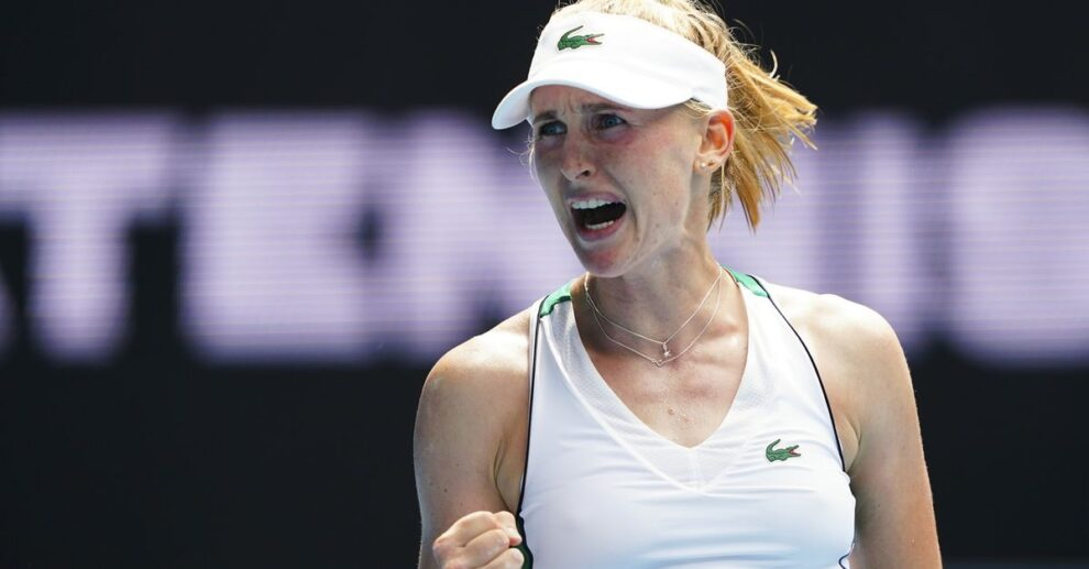 Teichmann Gauff WTA Dubai