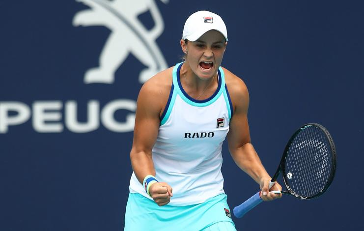 Barty Ostapenko Miami Open