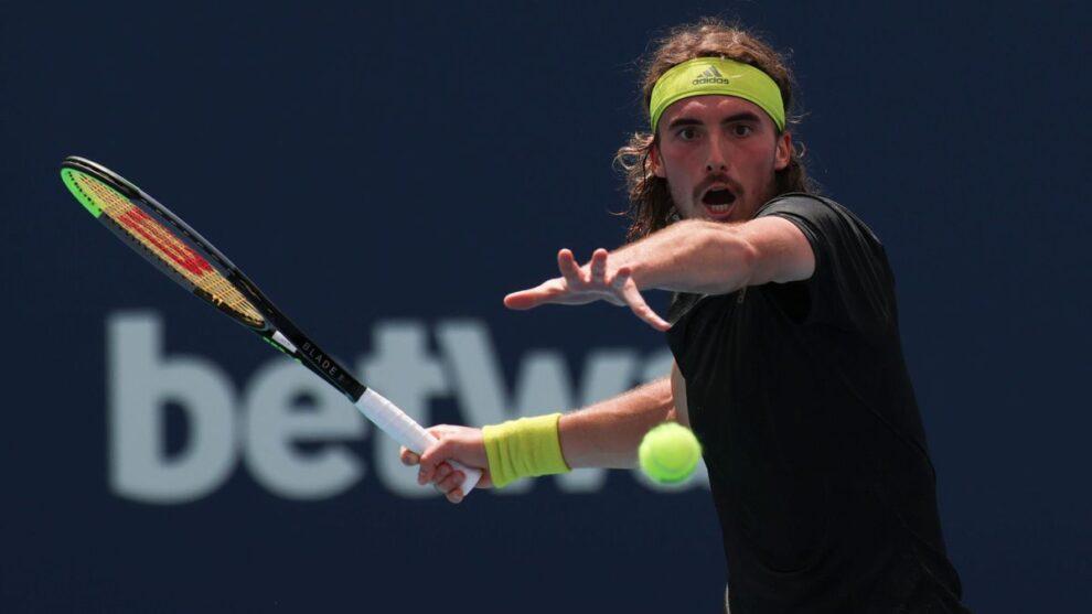 Tsitsipas Nishikori Miami Open