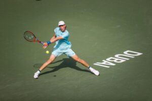 Shapovalov Chardy ATP Dubai