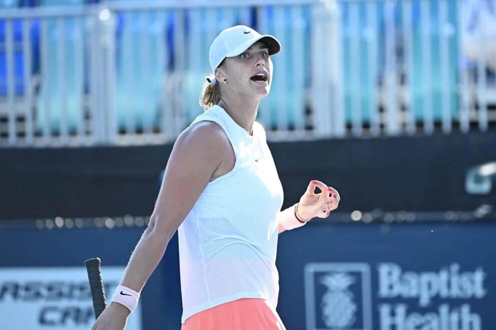 Sabalenka Kudermetova Miami Open