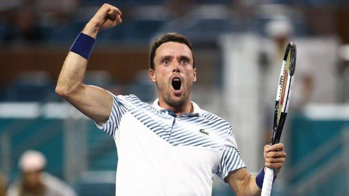 Bautista Medvedev Miami Open