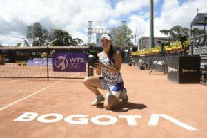 Camila Osorio título Bogotá