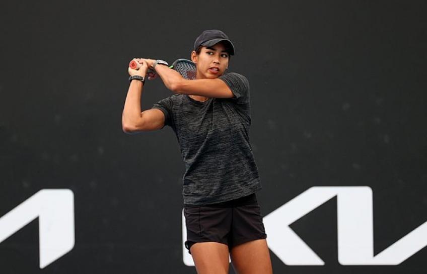 Sharma Gatto-Monticone WTA Bogotá