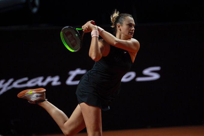 Sabalenka Zhang WTA Stuttgart