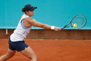Barty Rogers WTA Madrid