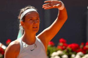 Azarenka Alexandrova WTA Madrid