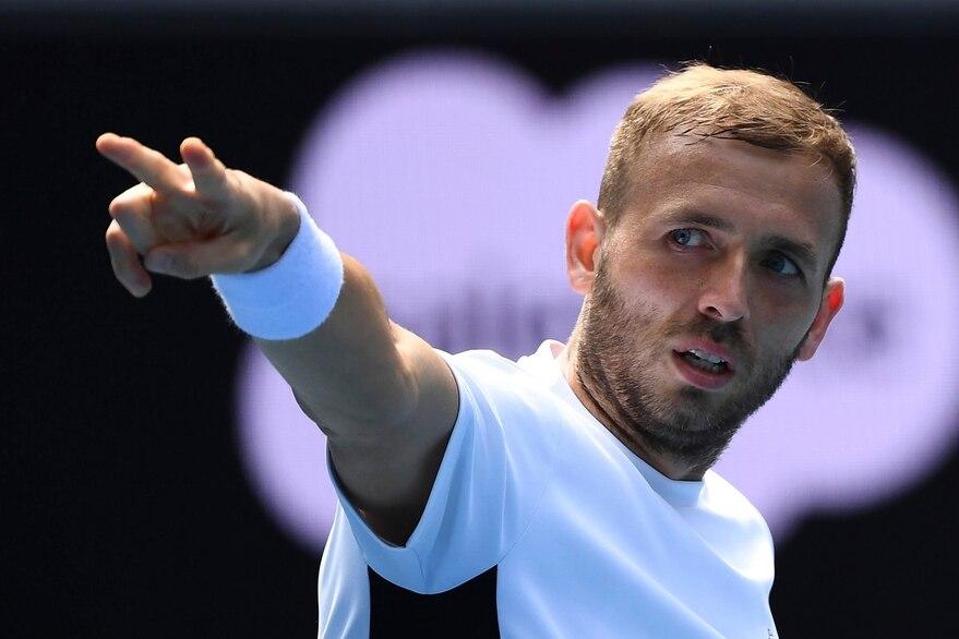 Djokovic Evans ATP Montecarlo
