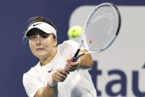 Andreescu Sakkari Miami Open