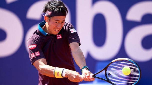 Garín Nishikori ATP Barcelona