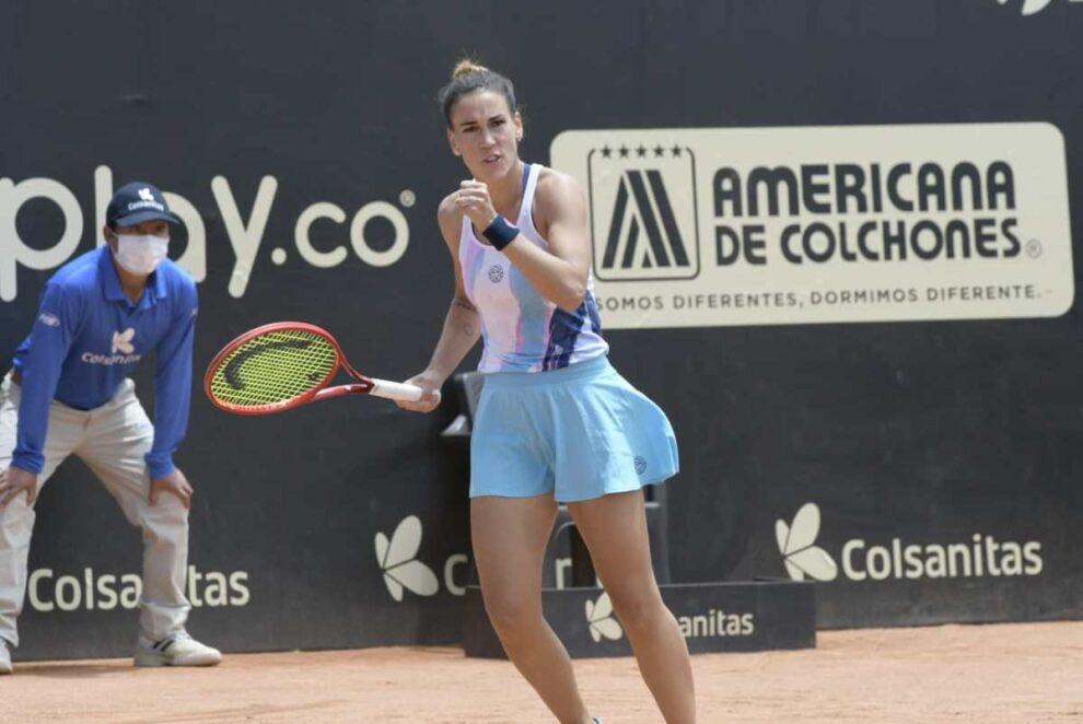 Párrizas Rus WTA Bogotá