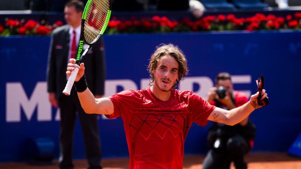 Tsitsipas Sinner ATP Barcelona