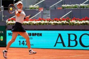 Halep Sorribes WTA Madrid