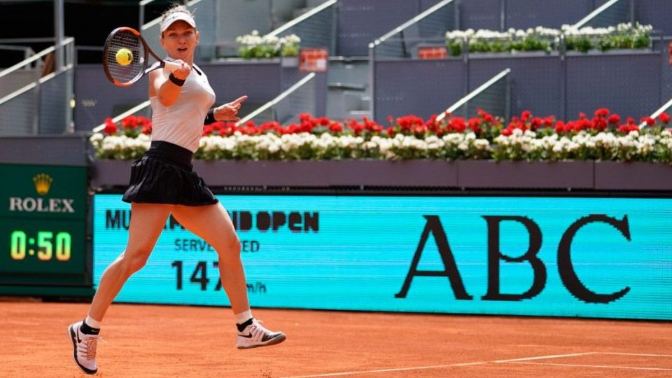 Halep Sorribes WTA Madrid