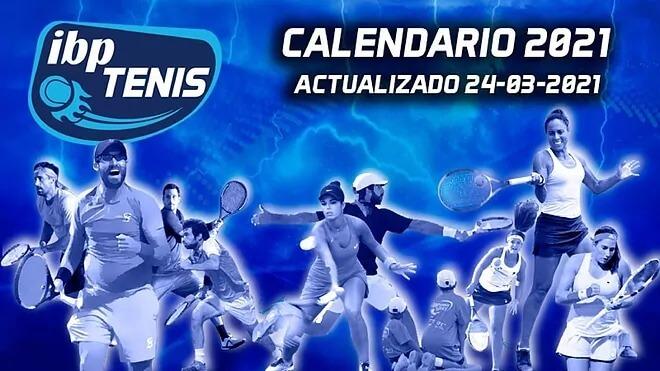Calendario IBP Tenis 2021