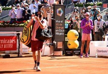 Nadal Alcaraz declaraciones ATP Madrid