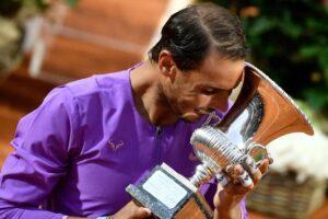 Nadal final ATP Roma