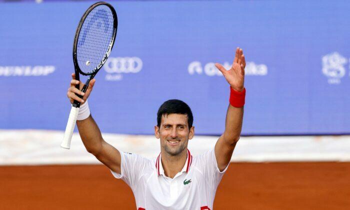 Novak Djokovic media Belgrado