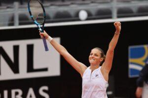 Pliskova Martic WTA Roma
