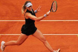 Badosa Davis Roland Garros
