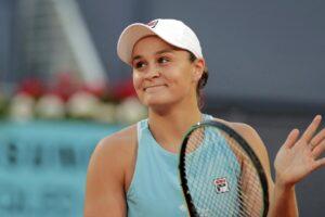Kvitova Barty WTA Madrid