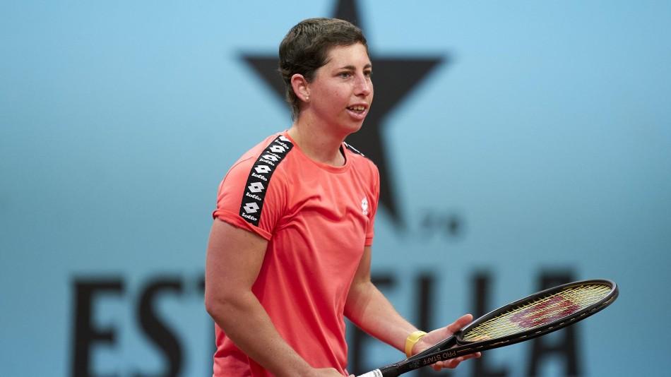 Carla Suárez declaraciones Roland Garros