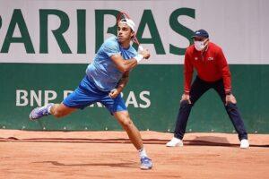 Cerúndolo Kwiatkowski Roland Garros 2021
