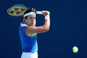 Cortado cuadro saque tenis