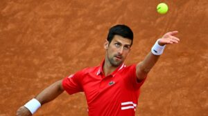 Djokovic Sonego ATP Roma