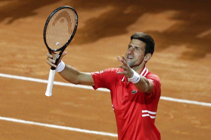 Novak Djokovic semifinales Roma